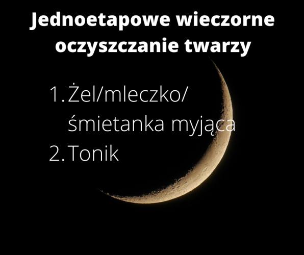 Jednoetapowe wieczorne oczyszczanie twarzy (1)